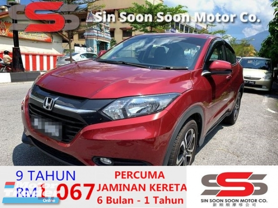 2016 HONDA HR-V 1.8 i-VTEC PREMIUM FULL Spec(AUTO)2016 Only 1 UNCLE Owner, LOW Mileage, TIPTOP, ACCIDENT-Free, with HONDA 3 Year WARRANTY & PUSH-Start