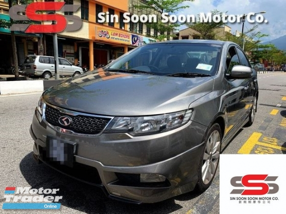 2012 NAZA FORTE Kia 1.6 FULL SPORT Spec(AUTO)2012 Only 1 LADY Owner, 79K KM, TIPTOP, ACCIDENT-Free, DIRECT-Owner, PADDLE Shift, DVD, GPS & REVERSE Cam