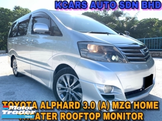 2005 TOYOTA ALPHARD 3.0 V6 MZG 2 P/DOOR HOME THEATER V6 ORI PAINT
