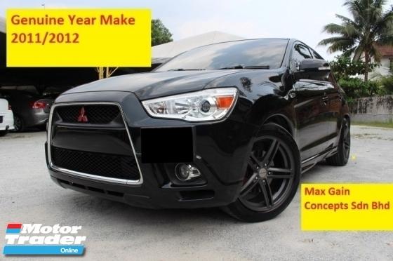 2011 MITSUBISHI ASX 2.0 (A) Mivec (Ori Year Make 2011 Reg 2012)(1 Owner)(Adjustable Suspension)