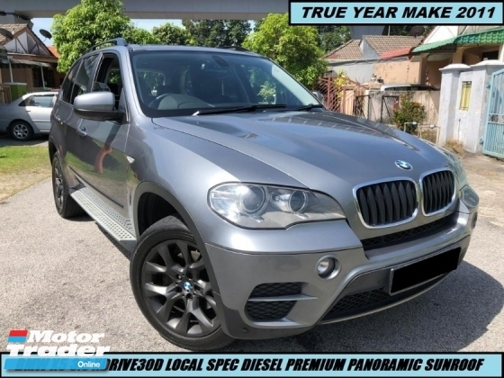 2011 BMW X5 XDRIVE 30D PREMIUM LOCAL HIGH SPEC ONE OWNER LOW MILEAGE TIPTOP CONDITION LIKE NEW CAR SHOWROOM