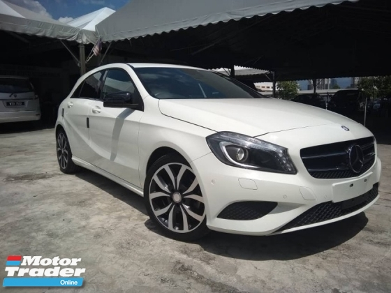 2014 MERCEDES-BENZ A-CLASS A180 Panoramic roof Unreg