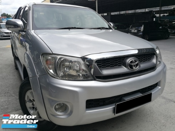 2012 TOYOTA HILUX 2.5 AT 4WD Double Cab
