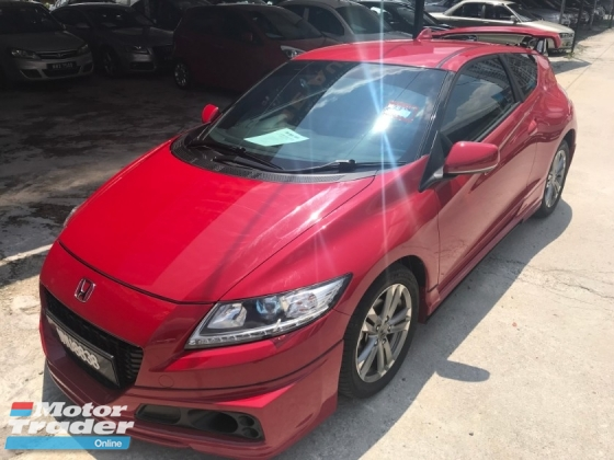 2014 HONDA CR-Z 1.5 (HYBRID) FACELIFT (A) S+, FULL SPEC, 1 LADY OWNER, TIP TOP CONDITION ,ORI MILEAGE,MUGEN BODYKITS