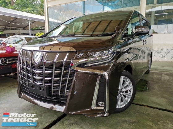 2018 TOYOTA ALPHARD 2.5 S NEW FACELIFT SUNROOF PRECRASH UNREG