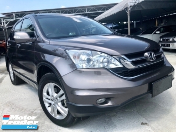 2012 HONDA CR-V 2.0 AWD (A) 1 MALAY LADY OWNER  TIP-TOP CONDITION