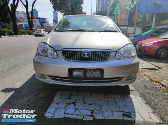 2005 TOYOTA ALTIS 1.6 G B.LIST BOLEH LOAN DP 1388 START