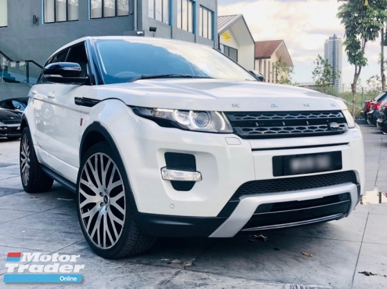 2012 LAND ROVER EVOQUE HSE DYNAMIC Si4 KAHN DESIGN