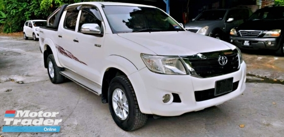 2013 TOYOTA HILUX DOUBLE CAB 2.5G (AT) NO OFF ROAD RUNNING WELL