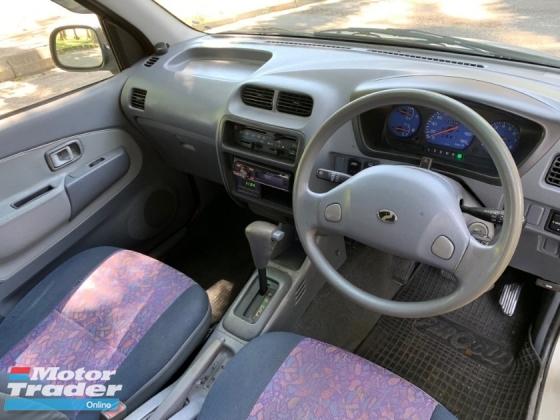2002 PERODUA KEMBARA 1.3 EZS FACE LIFT (A) 4WD 1 OWNER