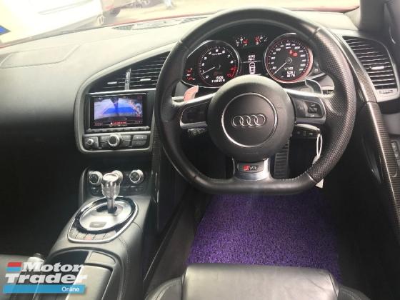 2013 Audi R8 52 V10 Fsi Quattro Paddle Shift Bo Sound System