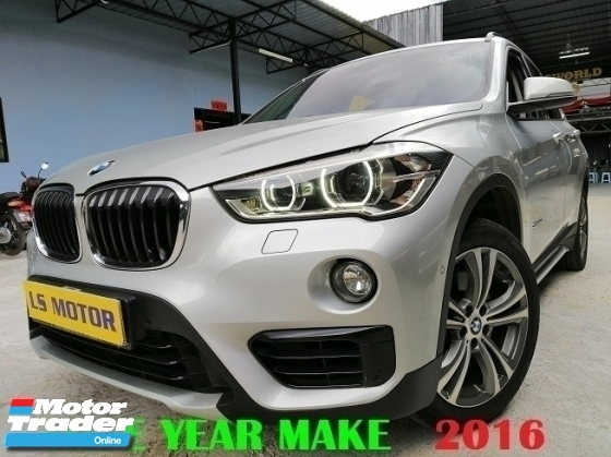 2016 BMW X1 S DRIVE 20I F48 - CKD BRAND NEW - NICE NO 838 - POWER BOOT - NAVI - UNDER WARRANTY TILL 2021 BY BMW - FREE COATING - 99% NEW CAR CONDITION...VIEW TO BELIEVE...