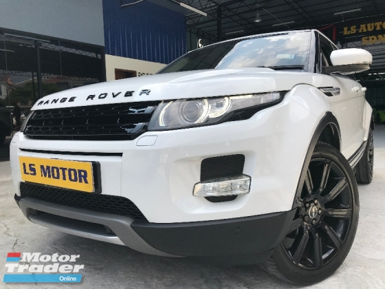 2012 LAND ROVER EVOQUE SI4 2.0 AUTO TURBO CKD BRAND NEW LAND ROVER - NICE NO 6336 - MERIDIAN SOUND SYSTEM - NAVI - MEMORY SEAT - POWER BOOT -FULL LOAN ......