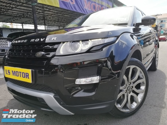 2014 LAND ROVER EVOQUE Si4 2.0 Dyanamic -9Speed -Full Spec -full service record with Land Rover malaysia