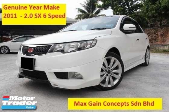 2011 NAZA FORTE 2.0 SX (A) 6 Speed Enhanced Specs (Ori Year Make 2011)(No Repairs Needed Buy and Drive)
