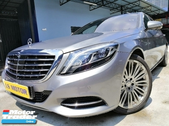 2015 MERCEDES-BENZ S-CLASS S400L HYBRID 3.5 V6 AUTO 7G TRONIC- CKD BRAND NEW C&C - NAVI - PANAROMIC ROOF - POWER BOOT - REAR ENTERTAINMENT - FULL VIEW CAMERA- PUSH START - NEW CAR CONDITION - VIEW TO BELIEVE - LOAN AVAILABLE - 9YRS TENURE -