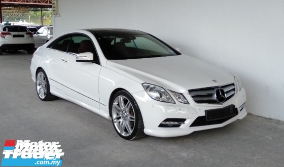 2013 MERCEDES-BENZ E-CLASS E200 1.8 AMG Coupe 7-Speed Full Model