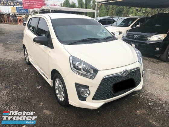 2015 PERODUA AXIA 1.0 SE (A) FULL LOAN ONE OWNER