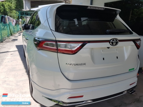 2015 TOYOTA HARRIER 2.0 premium japan spec