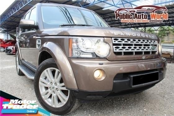 2011 LAND ROVER DISCOVERY 4 Land Rover DISCOVERY 4 3.0 TDV6 HSE HARMAN KARDON