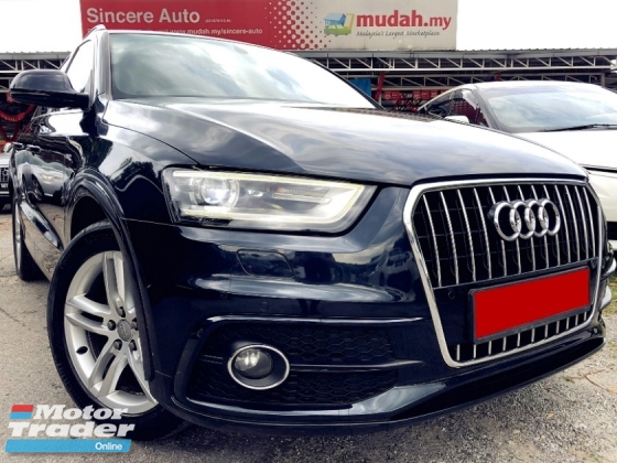 2013 AUDI Q3 Audi Q3 2.0 Quattro S-Line Local Spec 8 Speed