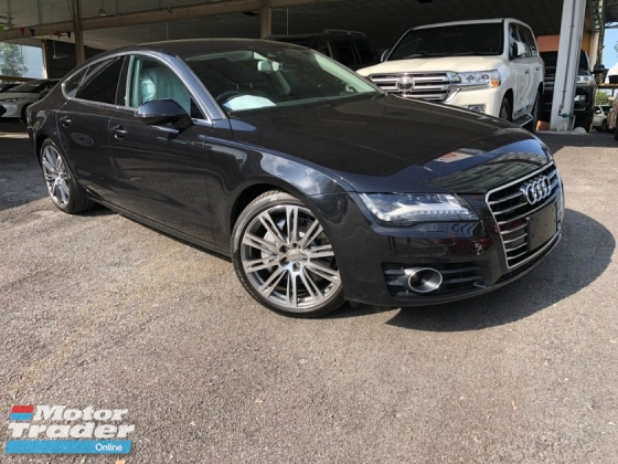 2014 AUDI A7 3.0 PETROL SUPERCHARGE BOSE DISTRONIC CRUISE 333HP