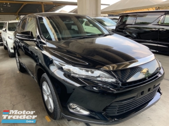 2017 TOYOTA HARRIER 2.0 JBL sound system 4 camera power boot push start unregistered