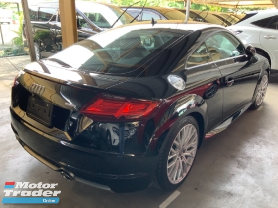 2016 AUDI TT 2.0 TFSI Quattro S Line electric seat multifunction steering digital meter unregistered