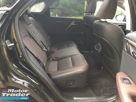 2016 LEXUS RX RX200 RX200t Luxury 2.0 Turbo HUD Brown INT PCrash 360CAM SROOF