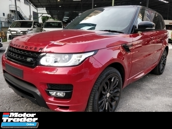 2015 LAND ROVER RANGE ROVER SPORT 5.0 AUTOBIOGRAPHY SPORT