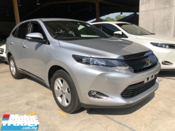 2017 TOYOTA HARRIER Unreg Toyota Harrier 2.0 360view Panaromic Roof PowerBoot Push Start