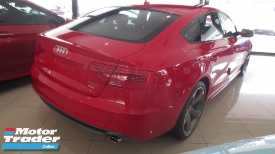 2013 AUDI A5 2.0 TFSI QUATTRO 4 Door - BRAND NEW - LOW MILEAGE - KEYLESS ENTRY _ PUSH START _ SUNROOF