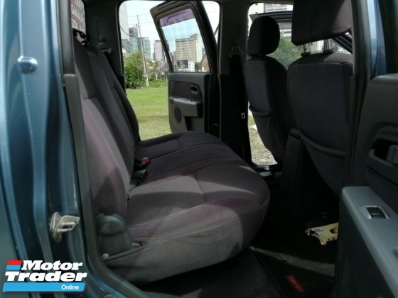 2007 ISUZU D-MAX 2.5L 4X2 DOUBLE CAB (M)