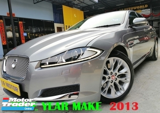2013 JAGUAR XF 2.0 LUXURY SPEC FACELIFT MODEL  - MILEAGE 52K KM DONE ONLY - FULL SERVICE RECORD - ALL ORIGINAL CONDITION - 1DATIN OWNER - ACC FREE - 4NEW TYRE - WELL MAINTAIN -FULL LOAN -3.XX% - NO REPAIR NEEDED -VIEW TO BELIEVE....