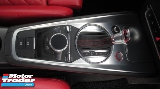 2015 AUDI TTS 2.0 Quattro TFSi Coupe