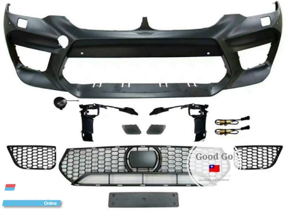 BMW G30 Convert G90 M5 Front Bumper Bodykit PP  Exterior & Body Parts > Car body kits