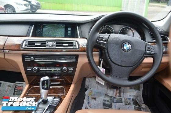 2013 BMW 7 SERIES 730Li 3.0 (A) CBU FACELIFT FULL SERVICE RECORD