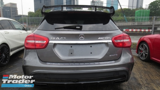 2015 MERCEDES-BENZ GLA GLA45 2.0 4MATIC SUV