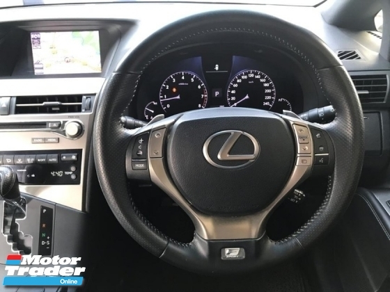 2013 LEXUS RX350 FACELIFT F SPORT LOCAL SPEC FREE WILAYAH 2 DIGIT NUMBER 32 LIMITED SPEC ONE MALAY OWNER ACCIDENT FREE