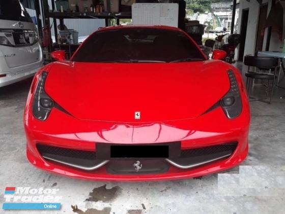 2010 FERRARI 458 ITALIA 4500cc