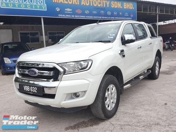 2016 FORD RANGER 2.5 XLT TDCI 4X4 DOUBLE CAB, Under Warranty, Full Service Record, Must View
