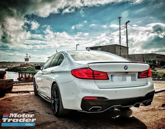 BMW G30 5 Serie M Performance Diffuser Set Bodykit Exterior & Body Parts > Car body kits