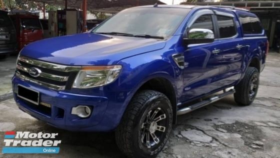 2014 FORD RANGER 2.5 XLT TDCI 4X4 DOUBLE CAB NO OFF ROAD LUXURY FAMILY USED