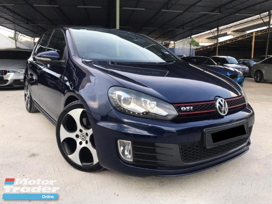2012 VOLKSWAGEN GOLF 2.0 GTi SPECIAL EDITION WITH SUNROOF FULL VW SERVICE 40KKM