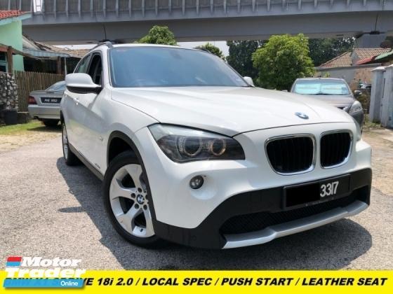 2012 BMW X1 SDRIVE18I LOCAL SPEC MEMORY SEAT LEATHER SEAT PUSH START AUTO HEADLAMP