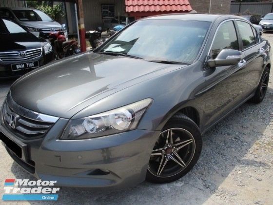 2012 HONDA ACCORD 2.4 VTI-L full service record