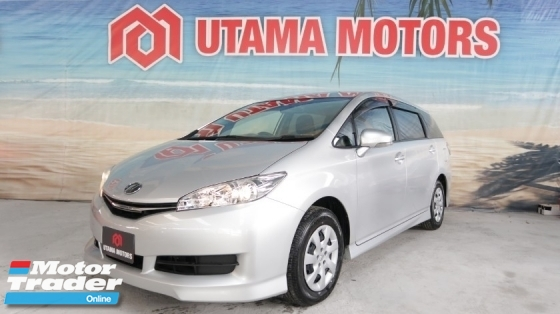 2015 TOYOTA WISH 1.8 X REAR VIEW CAMERA 7 SEATER TRACTION CONTROL RAYA PROMOTION