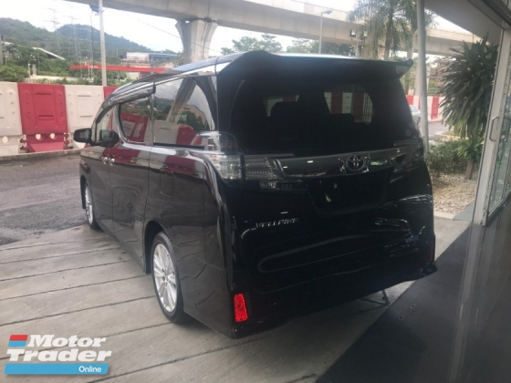 2015 TOYOTA VELLFIRE 2.5 ZA Edition BEST IN TOWN PROMOTION LOWEST PRICE IN TOWN