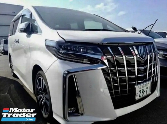 2018 TOYOTA ALPHARD 2.5 SC NFL 3 LED Full Spec Unreg Sale Offer