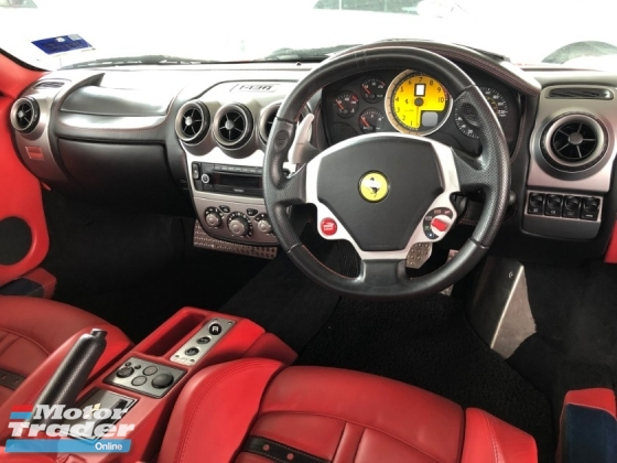 2008 FERRARI 430 F430 F1 Red Interior Original 44,000KM Ceramic Brake Sport Paddle Shift Steering Push Start Button Front Reverse Sensors Xenon Light Power Bucket Seats Loan Arrange able